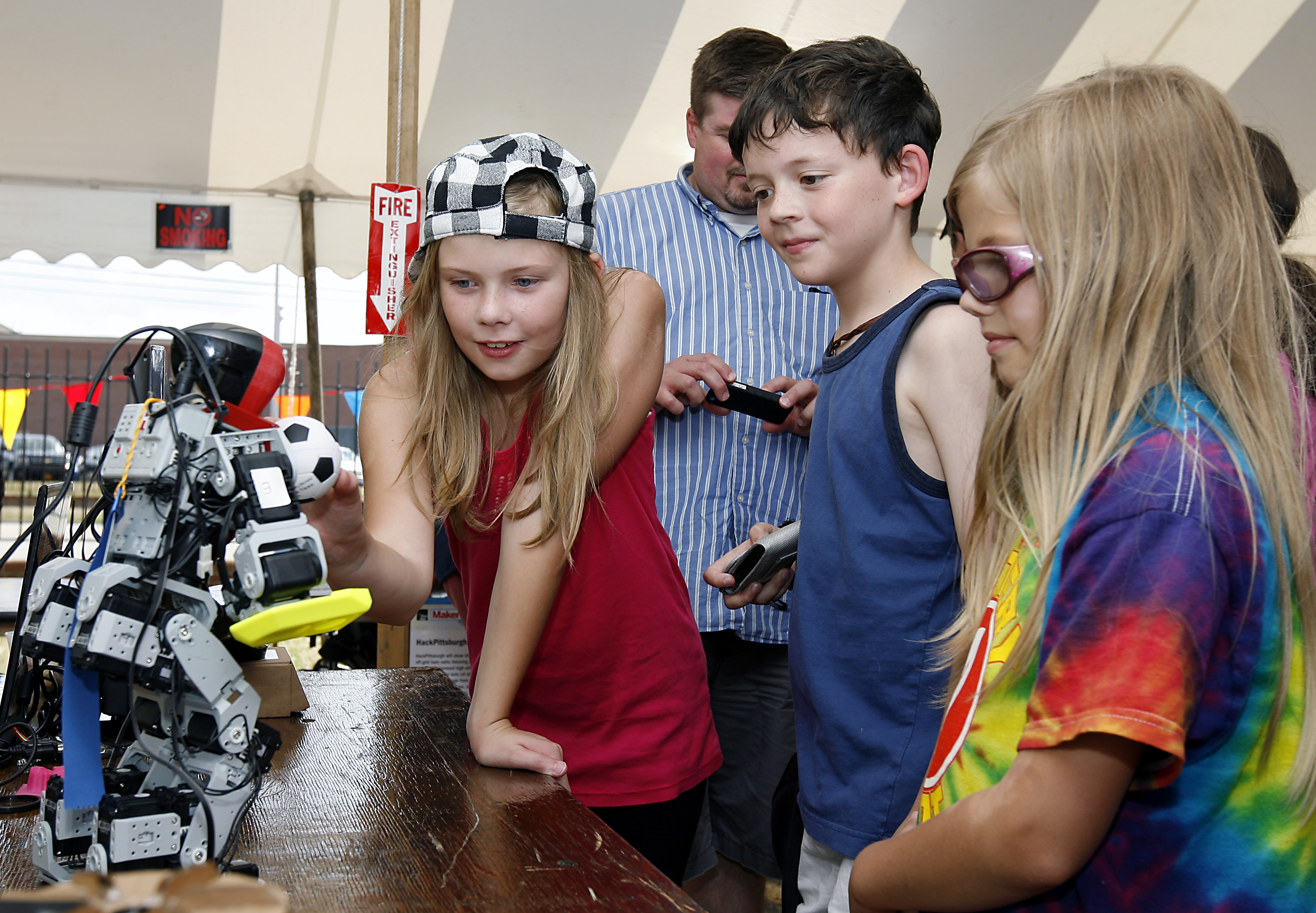 Maker Faire Detroit at The Henry Ford in Dearborn, Mich. Sunday, July 29, 2012. Gary Malerba for The Henry Ford