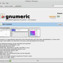 Install Gnumeric