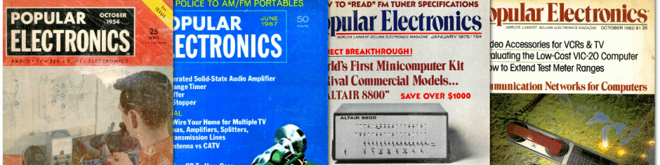 Popular Electronics, All Issues Online, for Free | OCS-Mag