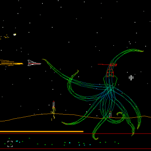 The Space Squid in Word War VI.