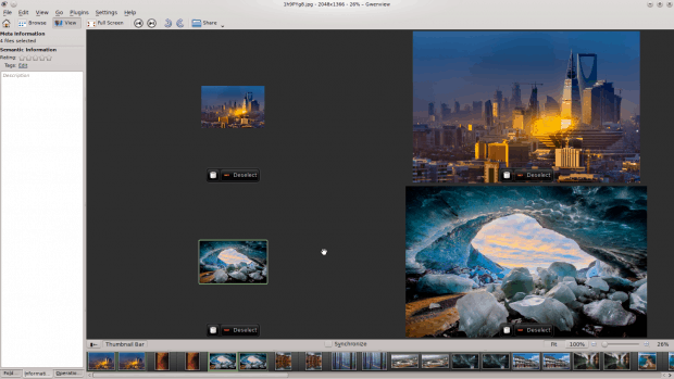 You can create thumbnails for all the pics in one directory with one line of code.