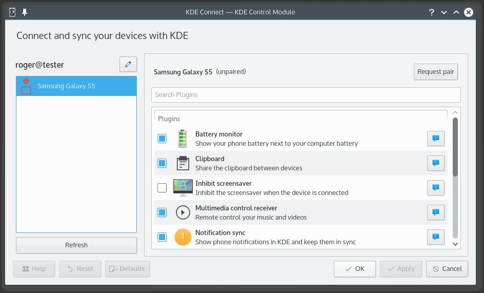 KDE Connect – Insieme, unite unite smartphone | OCS-Mag