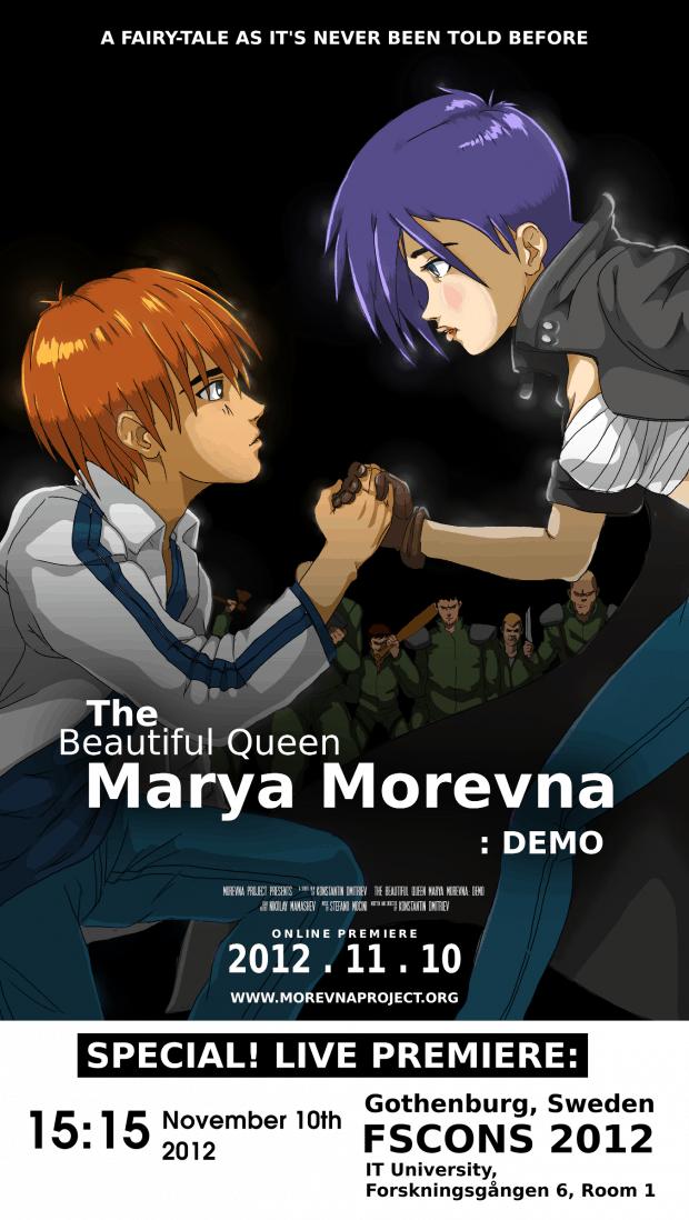 Poster for Morevna.