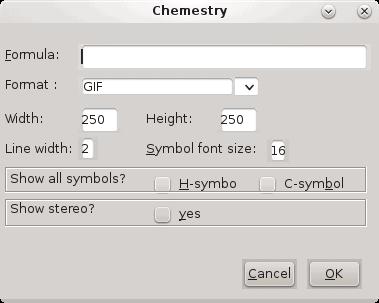Chemistry, create image