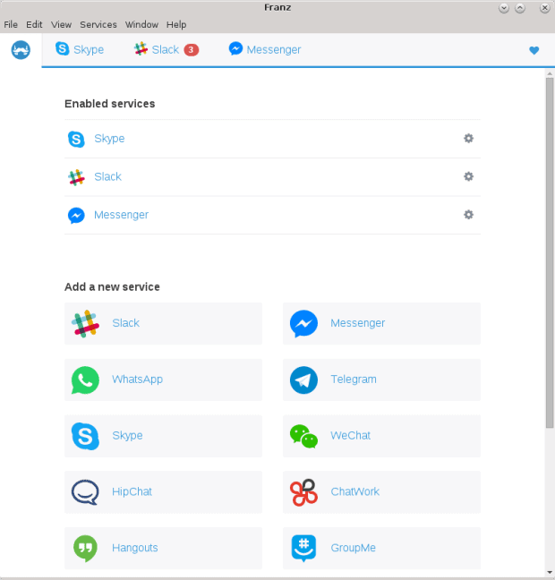 Added Messenger