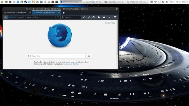 Firefox, CentOS