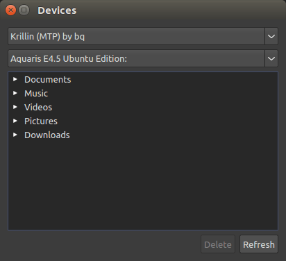 Ubuntu Phone discovery