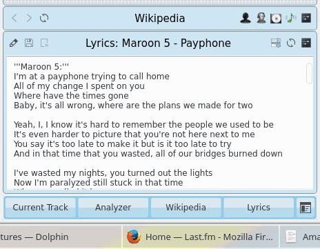 Lyrics, radio station