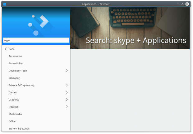 No Skype under applications