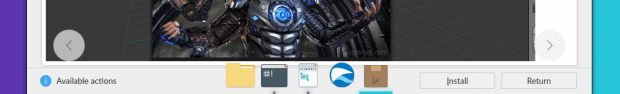 Default dock behavior