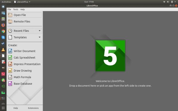LibreOffice flatpak
