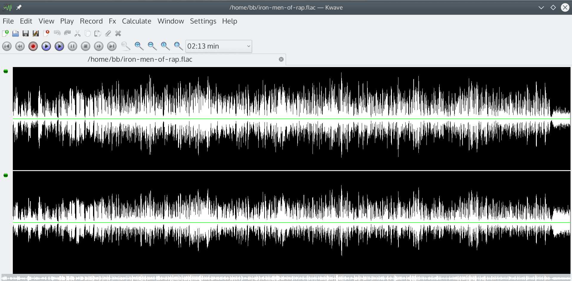 Replacing Audacity with KWave | OCS-Mag