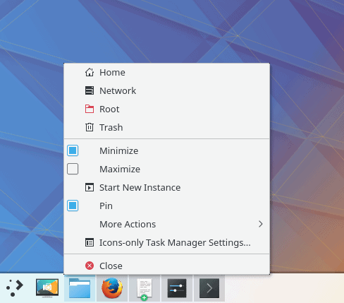 Task manager, what extra options