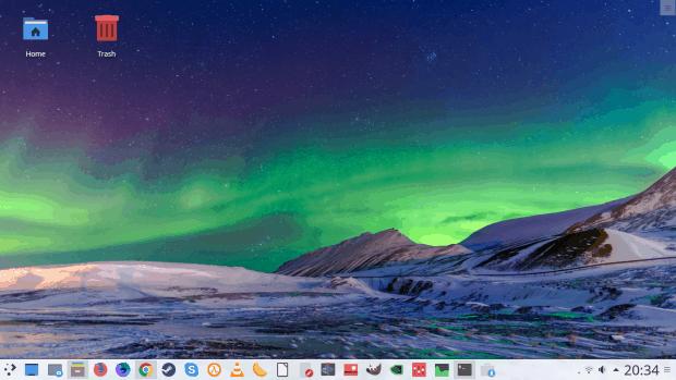 Kubuntu 17.04 Zesty Zapus