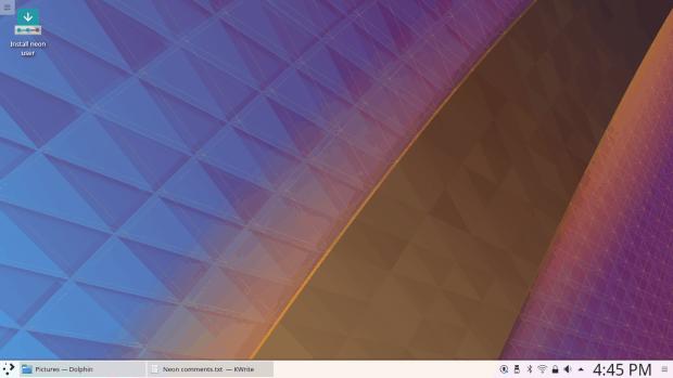 Desktop, connected