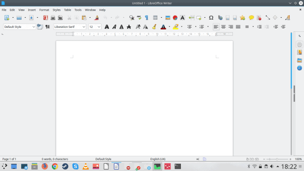 LibreOffice, nice fonts