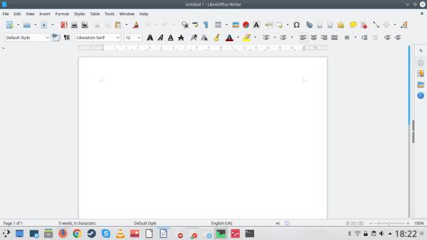 LibreOffice, nice fonts