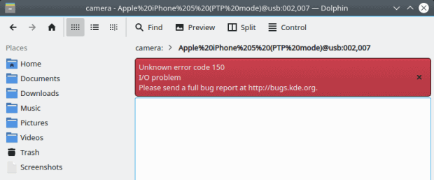 iPhone/iOS does not work