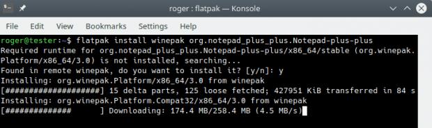 Notepad++, install