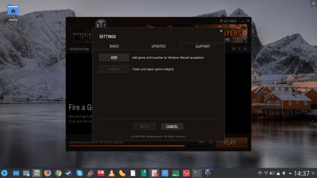 WoT firewall