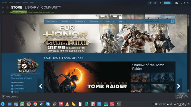 Steam Beta runs faster