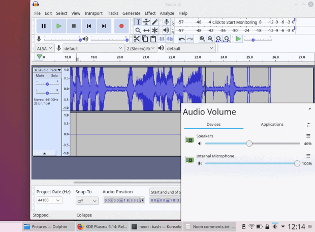 Audio management, nice