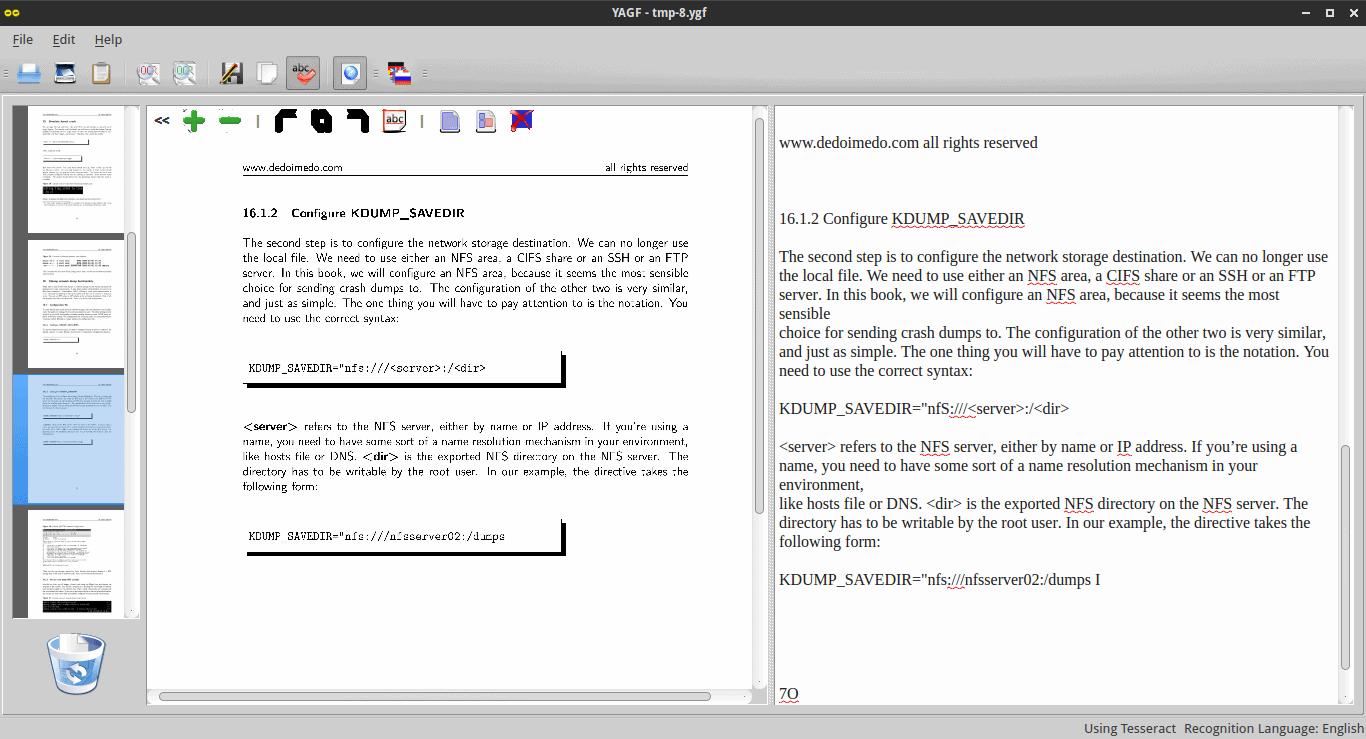 PDF results, more